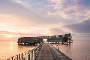 Kastrup søbad i Kastrup - Tegnet af White Architects